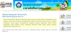 Jadwal dan Syarat PPDB SMP Kabupaten Aceh Selatan