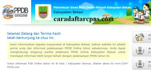 Jadwal Pendaftaran PPDB SMA SMK Negeri Kab Bekasi 2020/2021