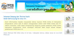 Jadwal Pendaftaran PPDB SMA SMK Negeri Kab Pangandaran 2020/2021