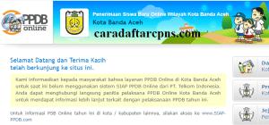 Jadwal Pendaftaran PPDB SMA 2020 2021 Kota Banda Aceh
