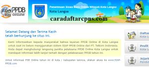 Jadwal PPDB SMP Kota Langsa