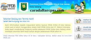 Jadwal PPDB SMP Kota Sabang