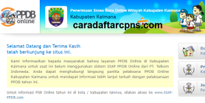 Jadwal PPDB SMA SMK Negeri Kab Kaimana 2020 2021