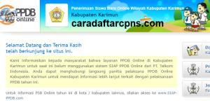 PPDB SMP Kabupaten Karimun