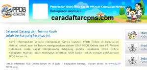 Jadwal PPDB SMA SMK Negeri Kab Malinau 2020 2021