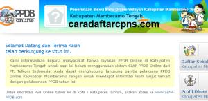 PPDB SMP Kabupaten Mamberamo Tengah