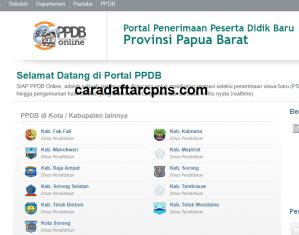 PPDB SMP Kabupaten Manokwari Selatan