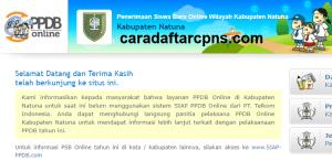 PPDB SMP Kabupaten Natuna