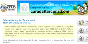 PPDB SMP Kabupaten Puncak