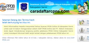 PPDB SMP Kabupaten Sarmi