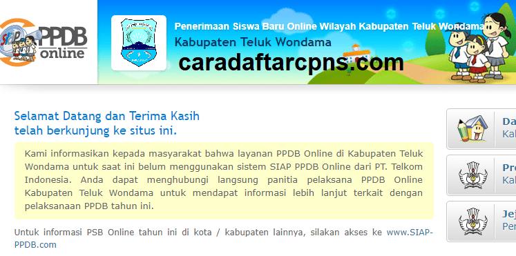 Ppdb Smp Kabupaten Teluk Wondama Syarat Jadwal Pendaftaran Sd