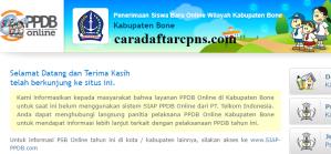 Jadwal PPDB SMA SMK Negeri Kab Bone 2020 2021