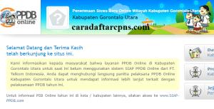 PPDB SMP Kabupaten Gorontalo Utara