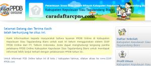 Jadwal PPDB SMA SMK Negeri Kab Sitaro 2020 2021