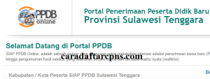 PPDB SMP Kabupaten Kolaka Timur