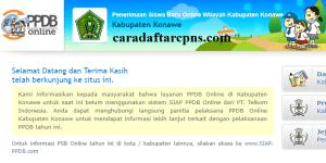 PPDB SMP Kabupaten Konawe