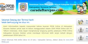 PPDB SMP Kabupaten Konawe Selatan