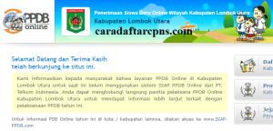 PPDB SMP Kabupaten Lombok Utara