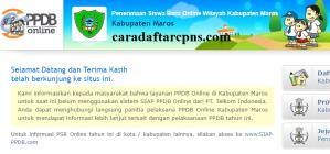 Jadwal PPDB SMA SMK Negeri Kab Maros 2020 2021