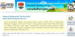 PPDB SMP Kabupaten Minahasa Tenggara