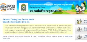 PPDB SMP Kabupaten Poso