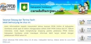 PPDB SMP Kabupaten Sumbawa