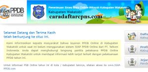 Jadwal PPDB SMA SMK Negeri Kab Wakatobi 2020 2021
