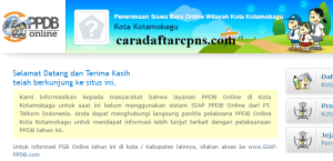 Jadwal Pendaftaran PPDB SMA SMK Negeri KotaMobagu 2020/2021