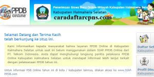PPDB SMP Kabupaten Halmahera Selatan