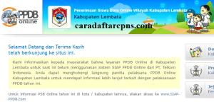 Jadwal PPDB SMA SMK Negeri Kab Lembata 2020 2021