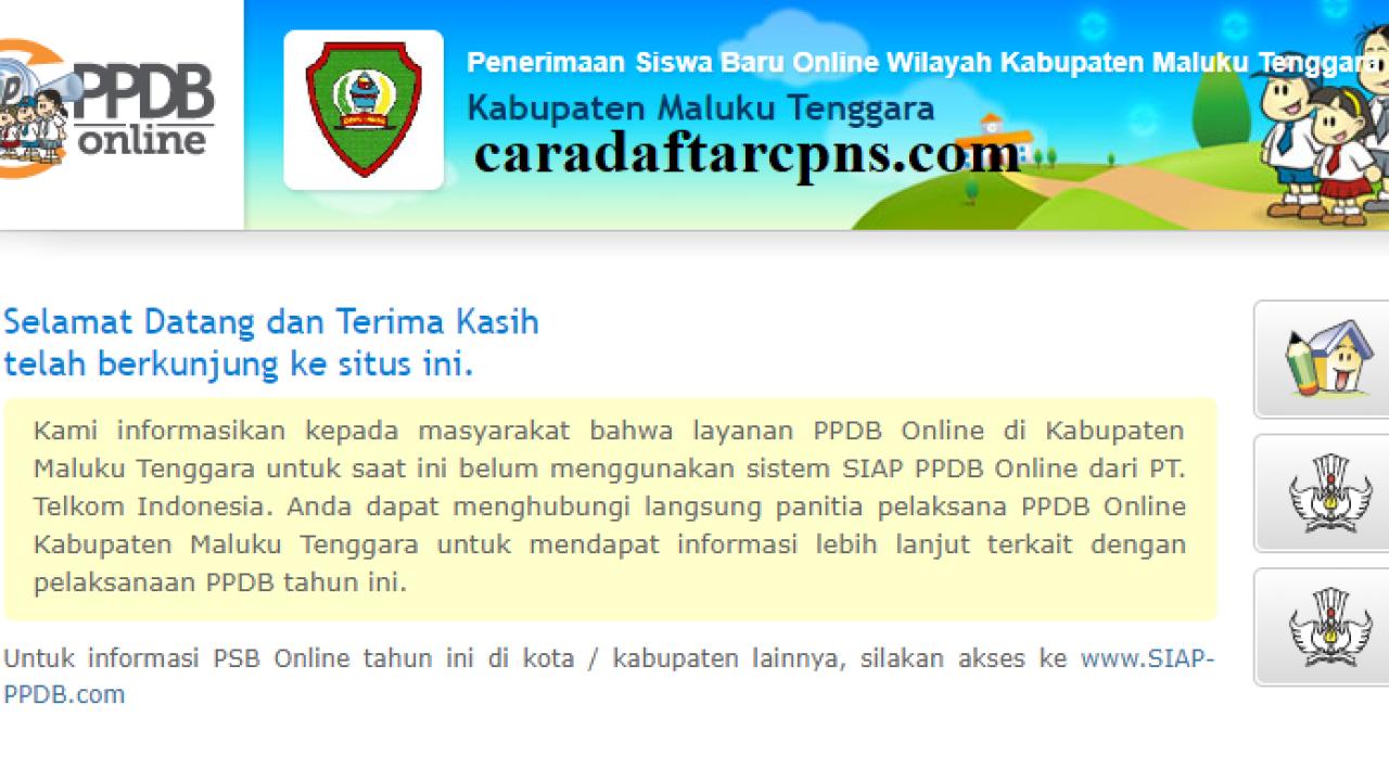Ppdb Smp Kabupaten Maluku Tenggara Syarat Jadwal Pendaftaran