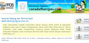 Jadwal PPDB SMA SMK Negeri Kab Nagekeo 2020 2021