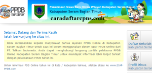 PPDB SMP Kabupaten Seram Timur