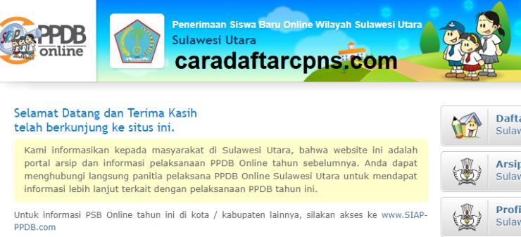 Jadwal Pendaftaran PPDB SMA SMK Negeri Provinsi Sulawesi Utara 2021