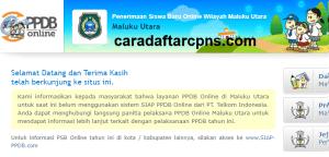 Pengumuman Hasil Seleksi PPDB SMA SMK Negeri Provinsi Maluku Utara 2020/2021
