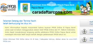 Pendaftaran PPDB Online SMA Provinsi Papua Barat 2019 2020