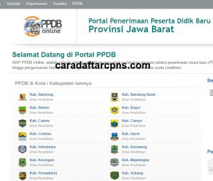 Pendaftaran PPDB Online SMA Provinsi Jawa Barat 2019 2020