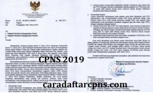 Formasi dan Jadwal Pendaftaran Seleksi CPNS 2019