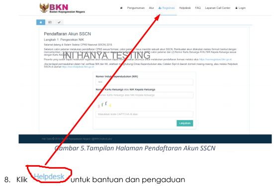 Panduan Cara Pendaftaran CPNS SSCN.BKN.GO.ID