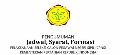 Jadwal dan syarat pendaftaran CPNS Kementan 2021
