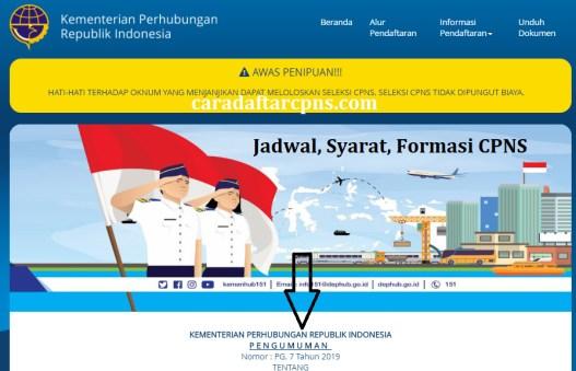 Jadwal dan syarat pendaftaran CPNS Kemenhub 2021