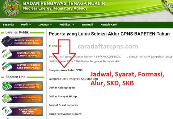 Jadwal dan syarat pendaftaran CPNS BAPETEN 2021