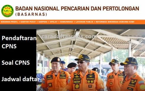 Jadwal dan syarat pendaftaran CPNS BASARNAS 2021