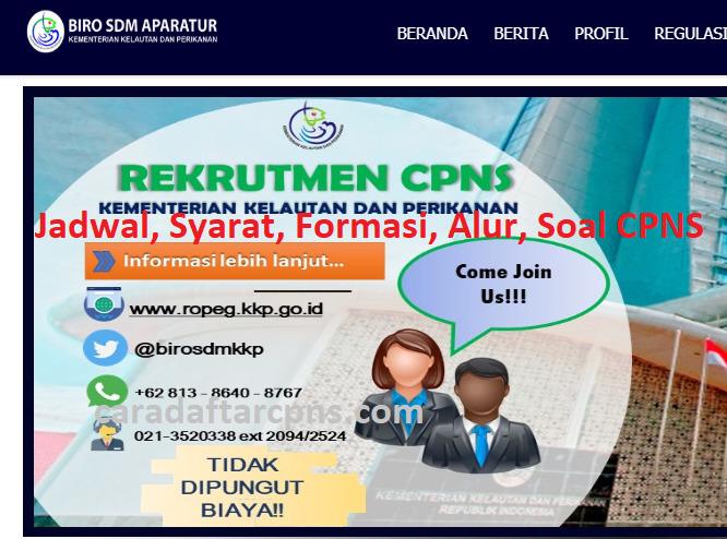 Pengumuman SKD CPNS KKP 2021