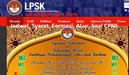 Hasil Seleksi Administrasi CPNS LPSK 2021