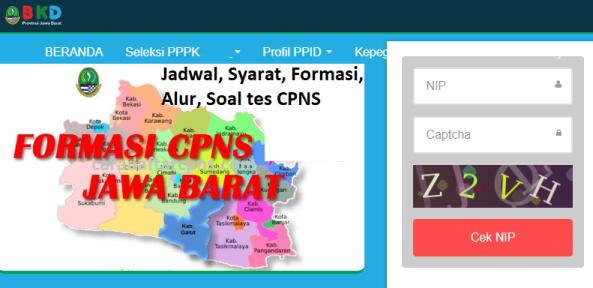 Hasil Seleksi Administrasi CPNS Pemprov Jabar 2021