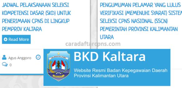 Hasil Seleksi Administrasi CPNS Pemprov Kaltara 2021