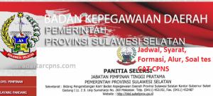 Jadwal Pendaftaran CPNS Pemprov Sulsel 2021 Lulusan SMA SMK D3 S1 S2