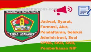 Jadwal Pendaftaran CPNS Kabupaten Asahan 2021 Lulusan SMA SMK D3 S1 S2