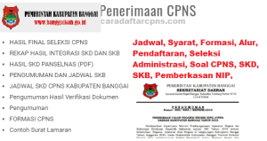 Pengumuman CPNS Kabupaten Banggai 2021 Lulusan SMA SMK D3 S1 S2